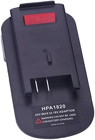 HPA1820 Battery Adapter For Black/&Decker 18V to 20V Lithium Battery LBXR20 LB20