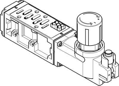 Festo 555776 Model VABF-S2-2-R3C2-C-10 Regulator Plate