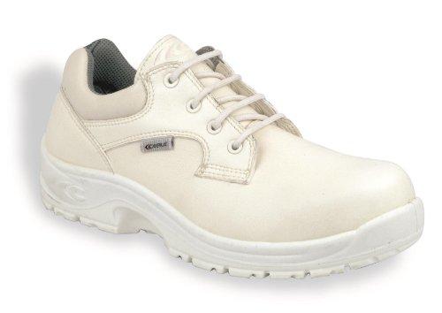 Cofra Remus S2Src pares de zapatos de seguridad de tamaño 43Color Blanco