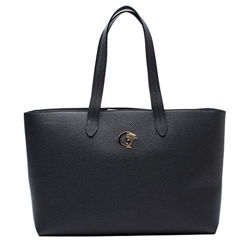 Versace Collection Leather Shoulder Handbag - Import It All d47ea0a4cff6f