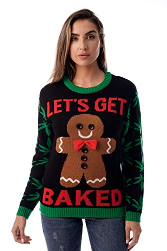 #followme Womens Ugly Christmas Sweater - Sweaters for Women -