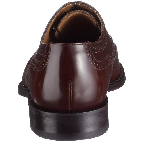 Homme Loake 202b Chaussures Marron Verni raEanv