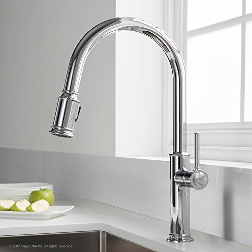 Kraus KPF-1680CH Sellette Kitchen Faucet, Chrome