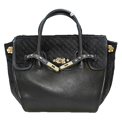 Borsa collezione velvet Secret nero 2019 Pon lady Pon medium fwqC4px