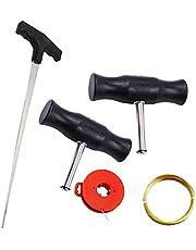 Zestaw narzędzi do usuwania przedniej szyby Narzędzie do usuwania szyb narzędzia do usuwania szyb z drutem stalowym do domu warsztat samochodowy pojazd