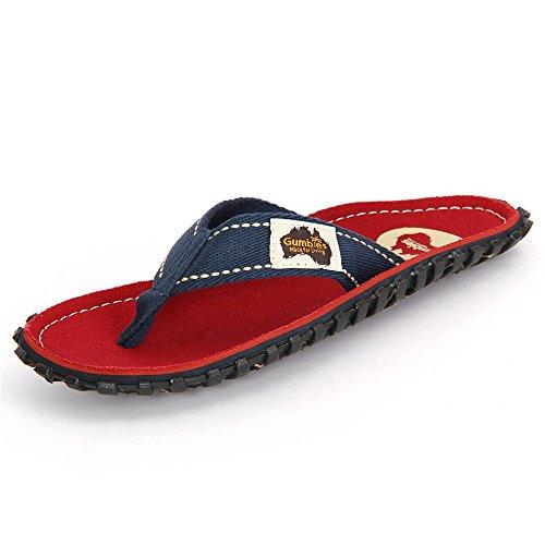 Strap Algodón Red Para Coast Sandalias De Gumbies Mujer navy TqnOpSx