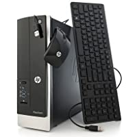 2018 HP Pavilion Slimline 400 Business Desktop Computer, Intel Quad-Core J2900 Processor up to 2.66GHz, 8GB RAM, 1TB HDD, DVD, USB 3.0, Windows 8.1 Professional (Certified Refurbished)