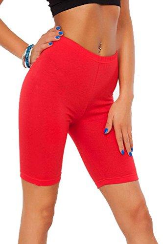 Donna Fashions SA SA Fashions Pantaloncini Rosso qwqIYP