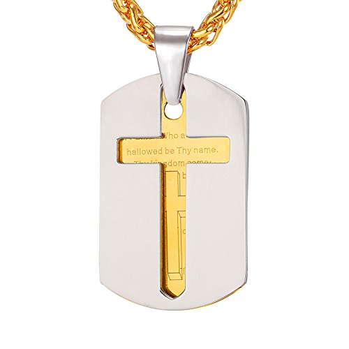 U7 Necklace Fathers Stainless Necklaces