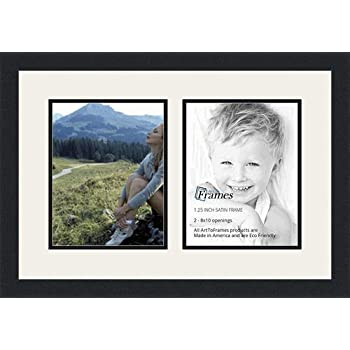Amazoncom Arttoframes Double Multimat 36 6189 Frbw26079 Collage