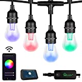 Outdoor String Lights – Patio Lights Outdoor RGB