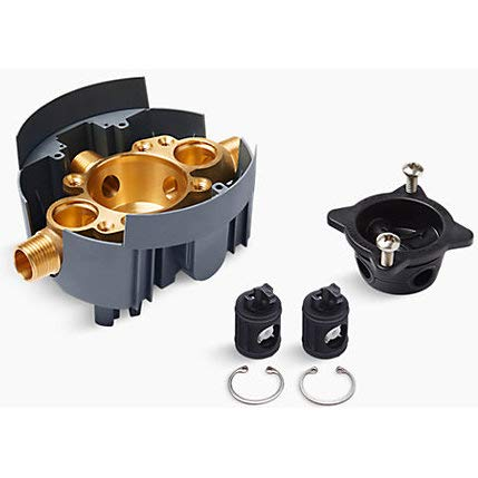 Kohler K-8300-KS-NA Universal RITE-Temp VLVE, Stop trim exclusions, Includes valve body, rough-in guide, and
