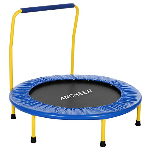 Ancheer-Portable-Foldable-36-dia-Mini-Rebounder-Trampoline-with-Handrail-Safe-Trampoline-for-Kids-Suitable-for-Indoor-Outdoor-Use