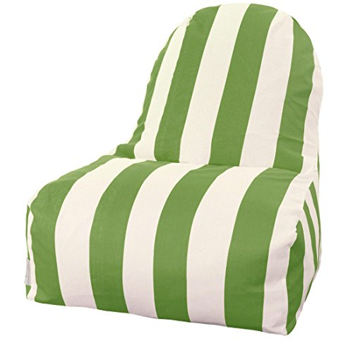 Majestic Home Goods Kick-It Chair, Vertical Stripe, Yellow by Majestic Home Goods (Image #4)