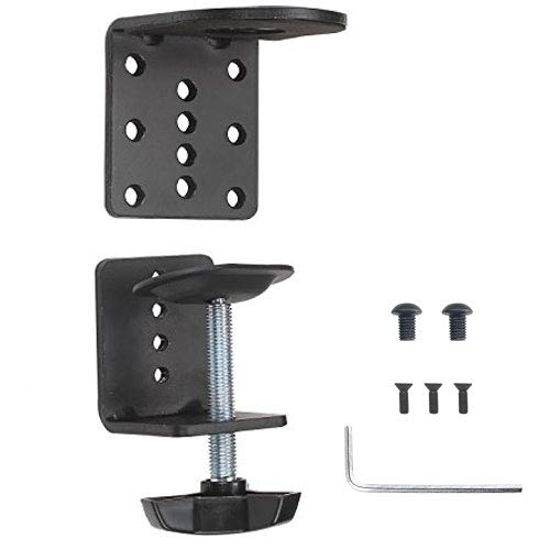 - WALI C-Clamp Base Stand Mounting for WALI Monitor Mount Workstation System (C-CLAMP), Black