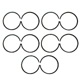 JRL 10x47mm Piston Rings For 66cc 80cc Engine Motorised Bicycle Bike