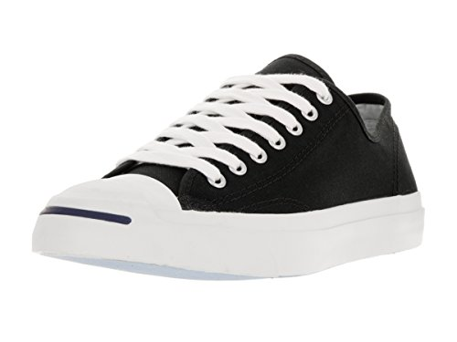 Converse Jack Purcell Canvas Ox Navy/White, Noir/blanc, 39 EU