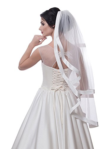 Bridal Veil Kelly from NYC Bride collection (chapel 72'', ivory) by NYC Bride