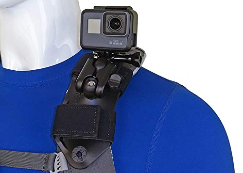 Stuntman Pack Mount - Backpack Shoulder Strap Mount for GoPro and Other Action Cameras