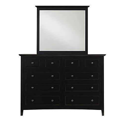 Modus Furniture 4N0282 Paragon Eight-Drawer Dresser, Black from Modus Furniture
