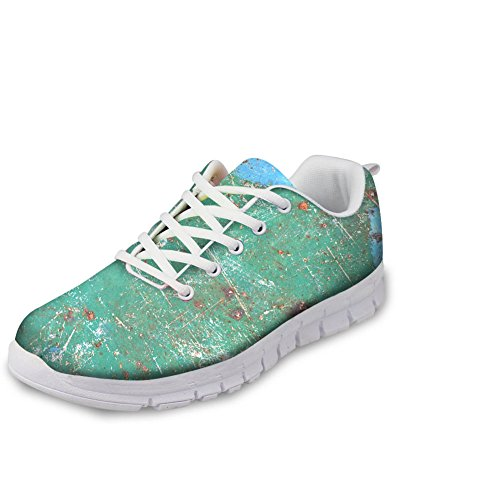 Light 2 Korean Up CHAQLIN Shoes Sneakers pattern Style Weight Walking Lace Girls Running Women Casual 8xpBS