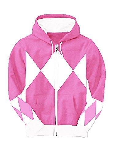 Pink  (Power Rangers Costume Women)