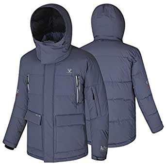 Fuerza Mens Down Wellon Special Collection Winter Parka