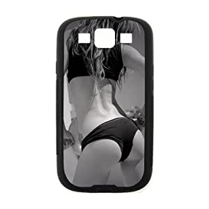Samsung Galaxy S3(I9300) Case,Sexy Girl Sexy Hip High Definition Black and White Design Cover With Hign Quality Rubber Plastic Protection Case