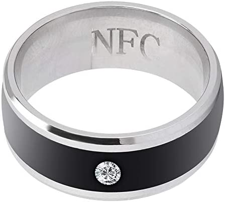 6in NFC Multi-Function Smart Rings Magic Wearable Device Universal for Mobile Phone Connecte to The Mobile Phone Function Operation and Sharing of Data 41rHML dfXL