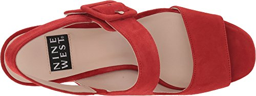 Anniversary Suede 40th lexine Nine West Womens Red pqax4H