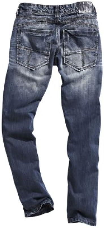 """Timezone tekstylnym dżinsy męskie normalnym ściągacz Fergus """"3401 Real Blue"""" 26 – 5345: Odzież"""