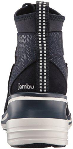 Jambu Women's Offbeat Ankle Bootie Navy WoGI2