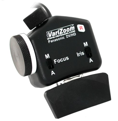Varizoom Rock Style Zoom, Focus, Iris control Only for HVX200 and DVX100B camcorders by VariZoom