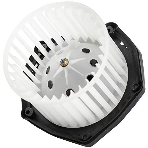 (MYSMOT Heater Blower Motor w/Fan Cage for 1999-2000 Cadillac Escalade/ 1997-99 Chevy C1500 C2500 K1500 K2500 Truck/ 97-00 GMC Yukon Tahoe Suburban 19131213 )