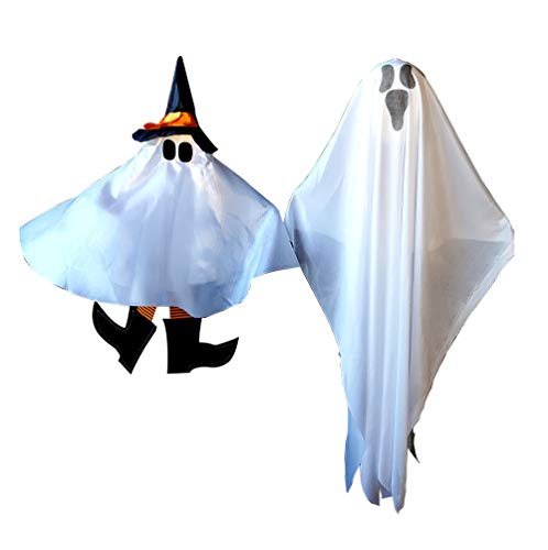 Halloween Party Decoration Hanging Ghosts, Cute Witch and