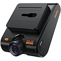 Roav Dash Cam C1, Car Recorder with Sony Sensor, 1080P FHD, 4-Lane Wide-Angle View Lens, Built-in WiFi with APP, G-Sensor, WDR, Loop Recording, Night Mode, Parking Mode [Upgraded Version]