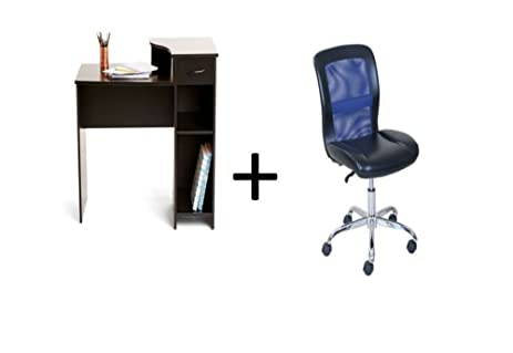 mainstays 3 piece home office bundle black. Mainstays Student Desk With Task Chair, Bundle Set (Black + Black/ 3 Piece Home Office Black E