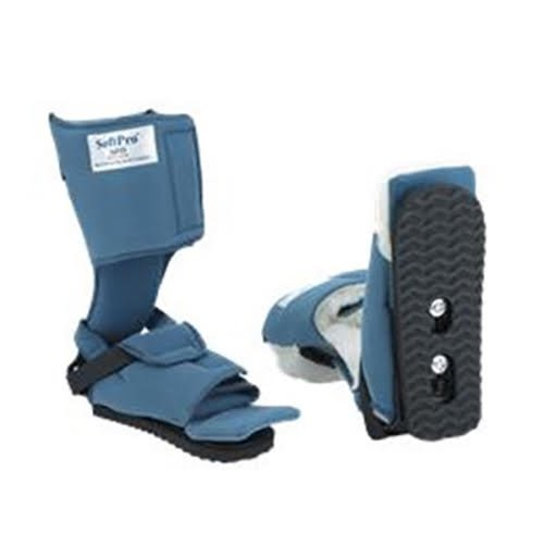 SoftPro Gait Trainer AFO Boot, Small, Smooth