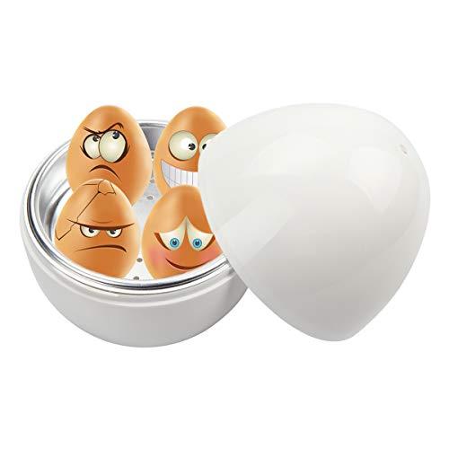 Kitchnexus - Cocedor de huevos para microondas con cubos de agua ...