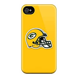 DeanHubley Apple Iphone 4/4s Durable Hard Phone Cases Provide Private Custom Beautiful Green Bay Packers 5 Pattern [buY585uaaP]