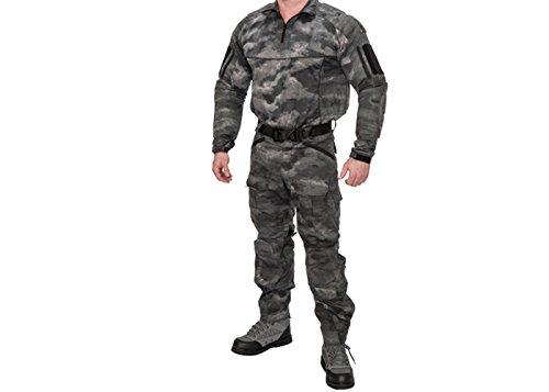 Lancer Tactical Soft Shell Frog Uniform Set (A-Tacs FG/Small)