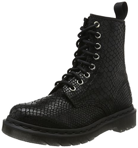 Dr. Martens Women's 1460 W 8 Eye Boot,Black Nappa,4 UK/6 M US (Dr Martens 4 Eye)