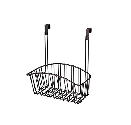 Spectrum Diversified Contempo Storage Basket, Over the Cabinet Door, Medium, Bronze