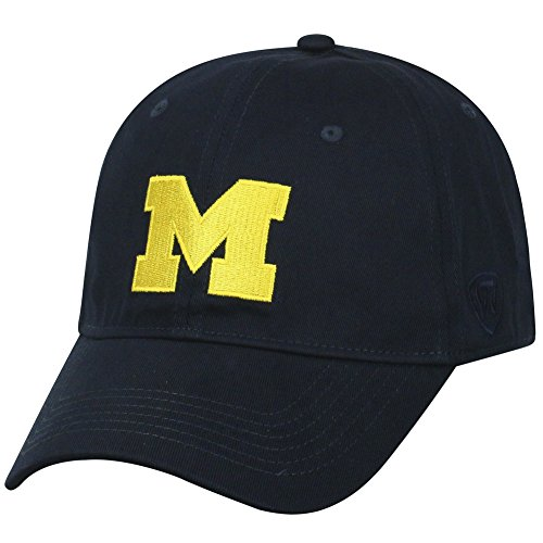 Elite Fan Shop Michigan Wolverines Fitted Hat Icon (Elite Stretch Hat)