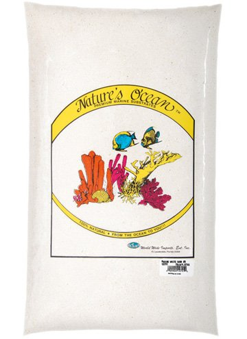 Nature's Ocean Marine White Sand #0 - Dry 10 lb by Nature's Ocean