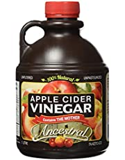 Apple Cider Vinegar, Ancestral, 100% Natural, Contains The Mother, Unfiltered, Unpasteurized, 1L