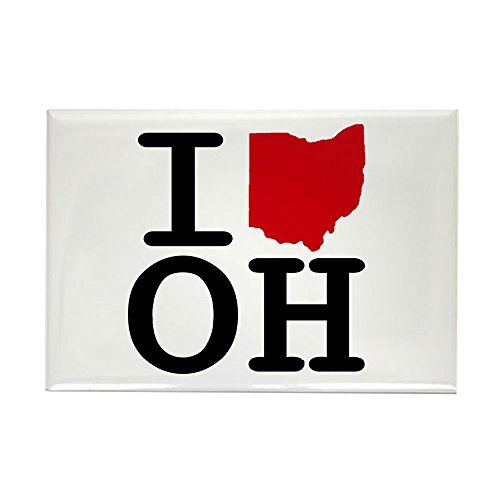CafePress I Heart Ohio Rectangle Magnet, 2