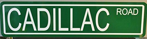 Motown Automotive Design Metal Street Sign Cadillac 6 x 24 HOT Rod Muscle CAR BAR Shop Home Office Collection Garage Man CAVE Restaurant Wall Art Gift Elvis Eldorado DEVILLE Fleetwood