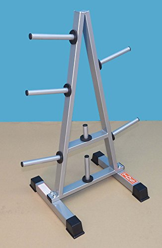 Triangle Standard Barbell Plate holder to hold 1000 lbs by TDS