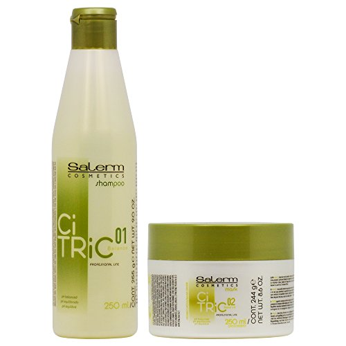 Salerm CiTric Balancing Shampoo & Mask 250ml - Balancing Salerm Shampoo